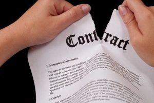 بهترین وکیل فسخ قرارداد
